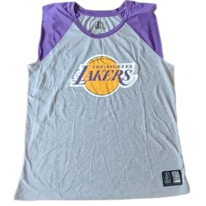 Lakers sleeveless top Size L NWT